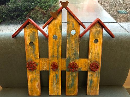 Picket Bird House