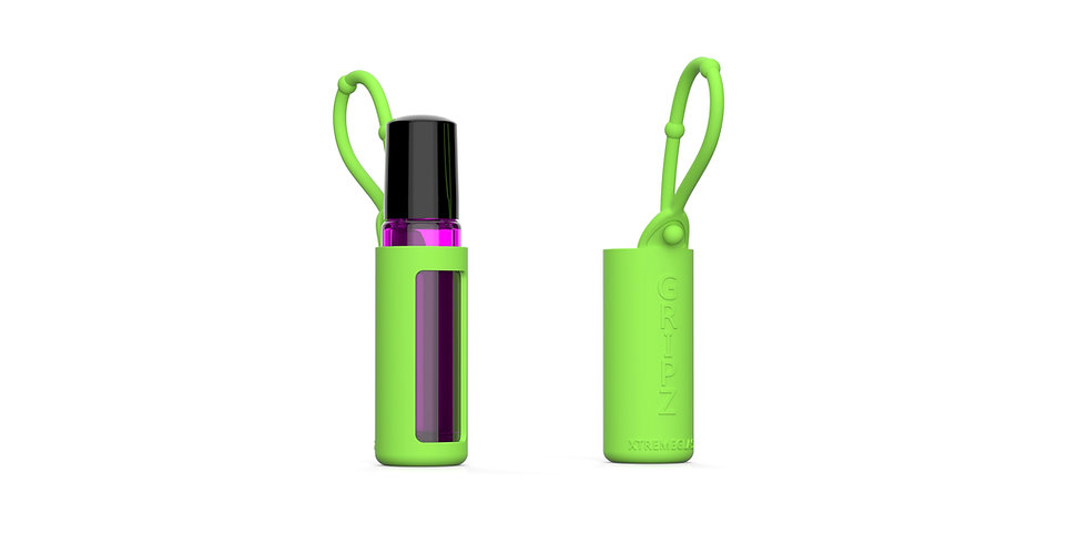 Roller Bottle Essential Oil Sleeve - GREEN
