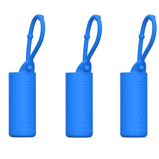 3-Pack Roller Bottle Essential Oil Sleeve - BLUE