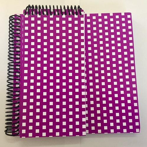 Pack de cuadernos estampado geométrico