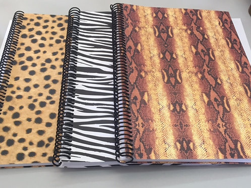 Pack de Cuadernos Animal Print