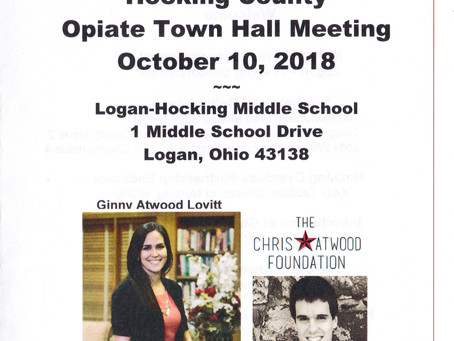 7th Annual Hocking County Opiate Town Hall Meeting - 10/10/2018