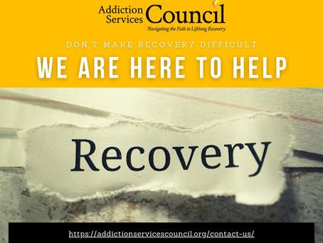 Addiction Services Council - 1/29/2021