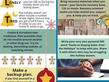 Holiday Sobriety Tips - 12/24/2020