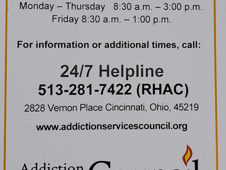 Addiction Services Council - 4/18/2021