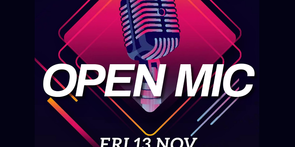 Open mic   November