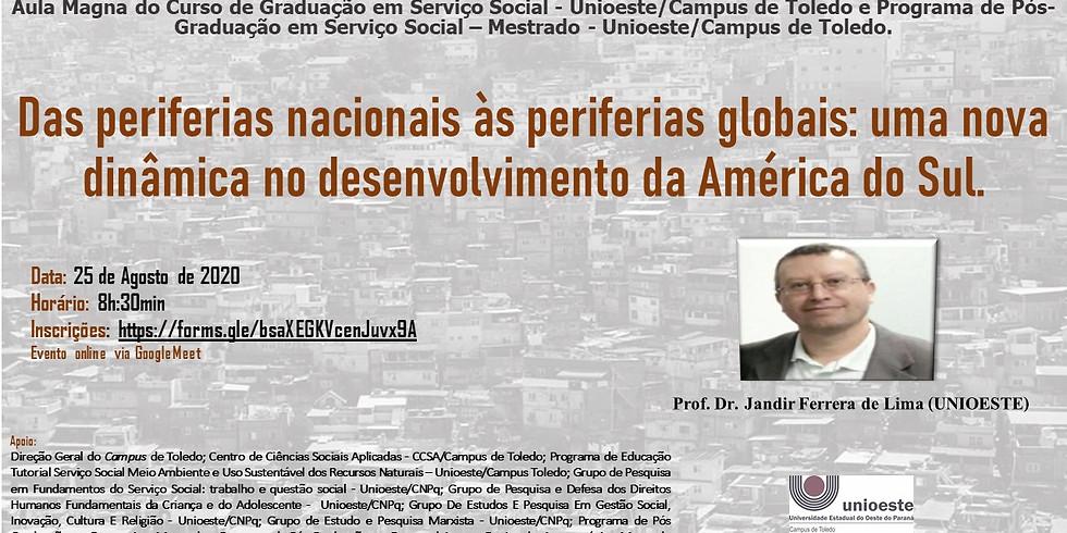 Aula Magna do Curso de Graduação em Serviço Social - UNIOESTE/Toledo