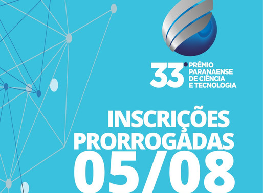 33ª edição do Prêmio de Ciência e Tecnologia