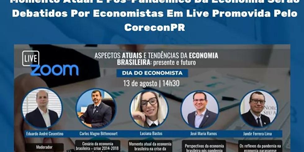 Webnário Promovido pelo CORECON PR