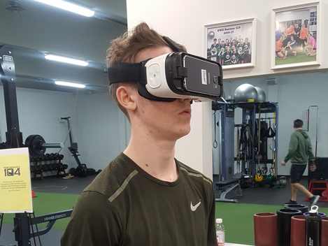 Virtual Reality and Athletic Training