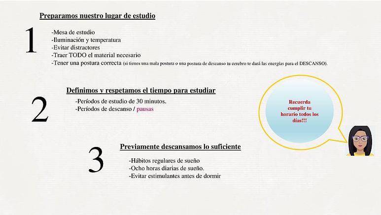 Recomendaciones para estudiar en el hoga