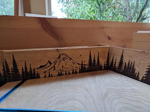 Mount Rainier Treescape