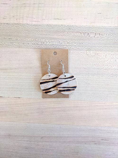 Stripped Earrings