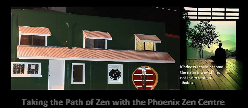 The Front of Phoenix ZenCentre