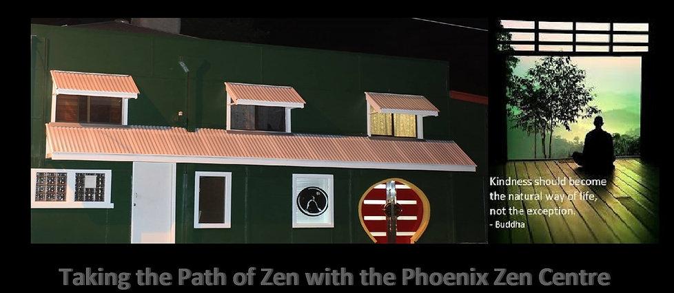 The Front of Phoenix ZenCentre