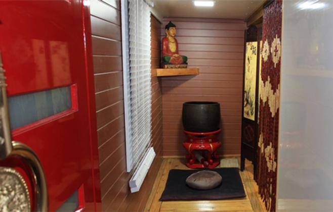 Front Lobby of Phoenix Zen Centre