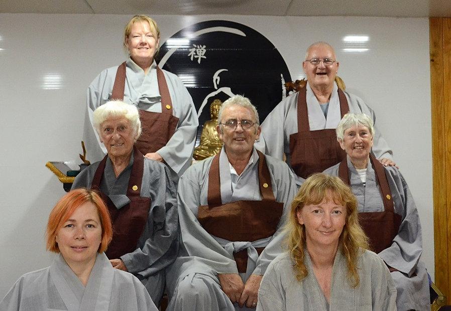 Core members of Phoenix Zen Centre