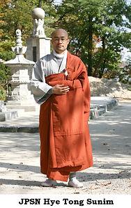 JPSN Hye Tong Sunim