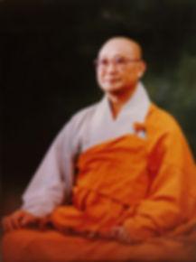 Photo of Zen Master Seung Sahn