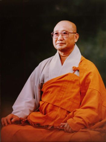 Photo of Zen Master Seung Sahn