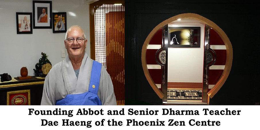 Founding Abbot and Senior Dharma Teacher Dae Haeng