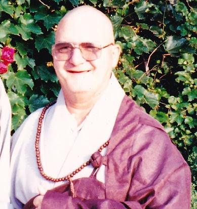 Dae Haeng as a Monk at Hwa Gye Sa in Seoul