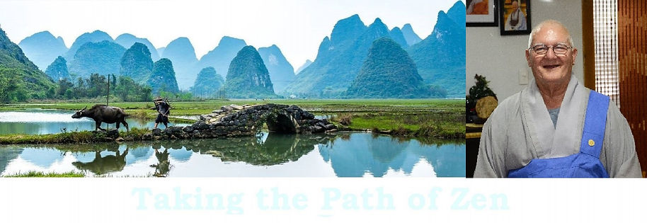 Mountains and taking the path of Zen
