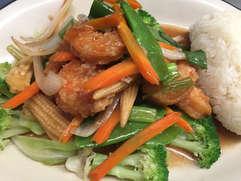 Lovely Shrimp with Sticky Rice