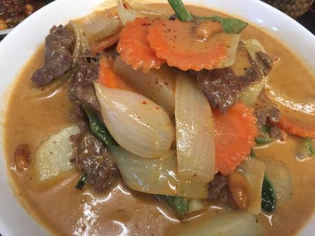 Massaman Beef