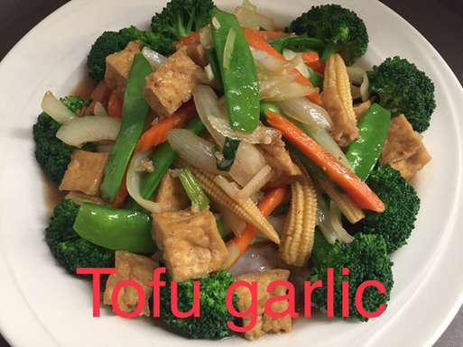 Tofu Garlic