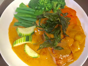 Salmon Mango Curry