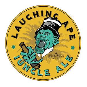 Logo Beer Bier Laughing Ape adigrafik graphic design