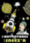 illustration poster posterwork vector art sneeze astronaut pollen adigrafik