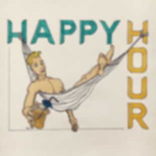 illustration happy hour adigrafik