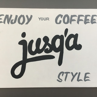 jusqabrand sign