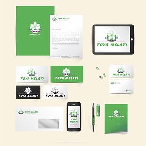 Corporate Identity Branding Adigrafik Toya Melati Massageplace