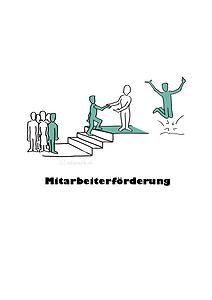 illustration mitarbeiterförderung