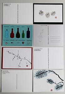 postcard new year adigrafik graphic design