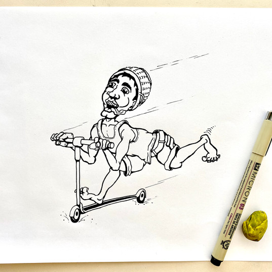 skater sketch