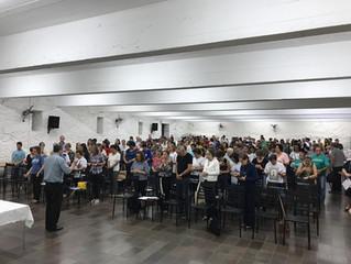 Coordenadores paroquiais reuniram-se para a avaliação do IVC