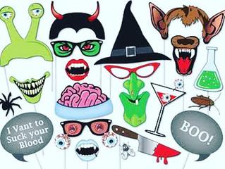 Halloween photobooth props!!