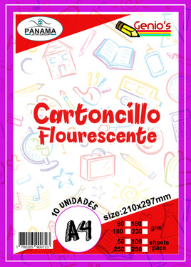 Cartoncillo Flourecente