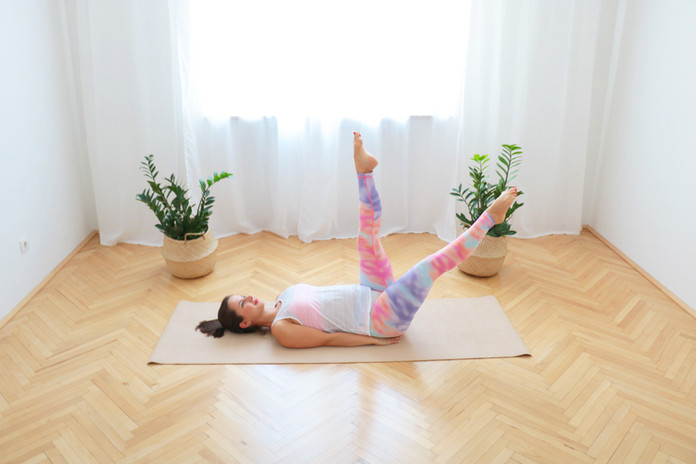 18 Min Pilates Core Workout für 1. Trimester