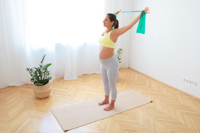 20 Min Pilates für Rücken Mobilität und die Haltung für alle Trimestern