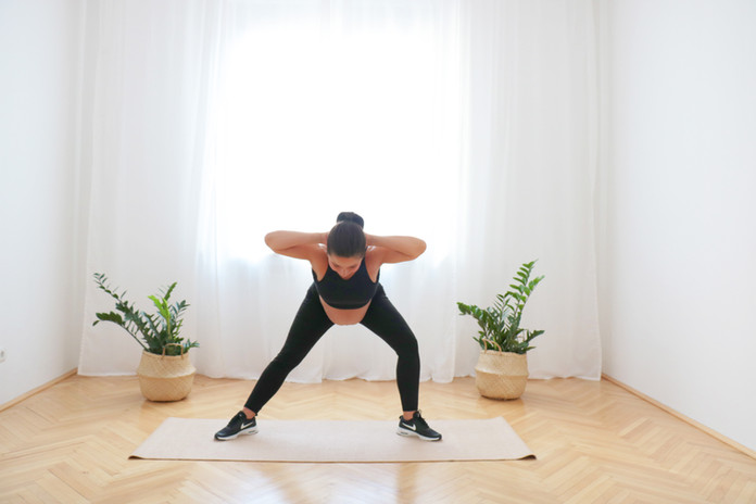 37 Min Ganzkörper Body Weight  Workout für 3. Trimester