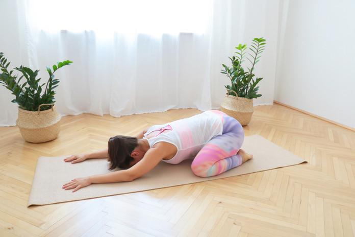7 Min Pilates für den Rücken für 1. Trimester