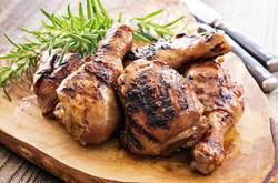 Free range chicken in Dorset