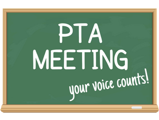 Virtual General PTA Meeting - May 24th