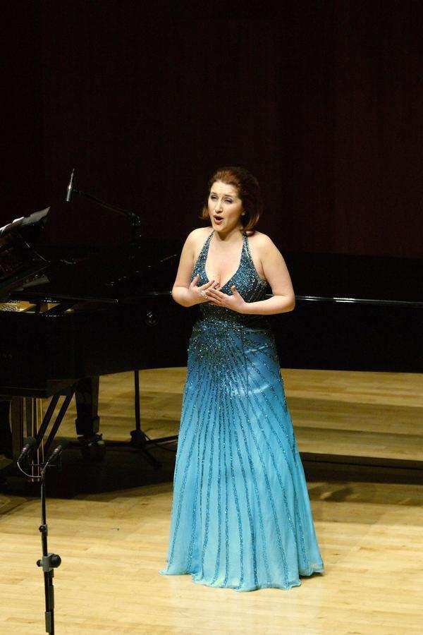 Maria Kostraki Critini (opera singer) performing in Korea