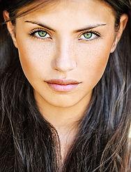 Zielony Eyed Girl